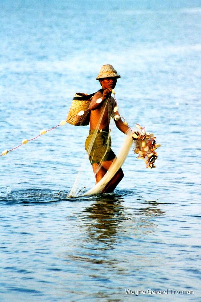 Balinese Fisherman by Wayne Gerard Trotman