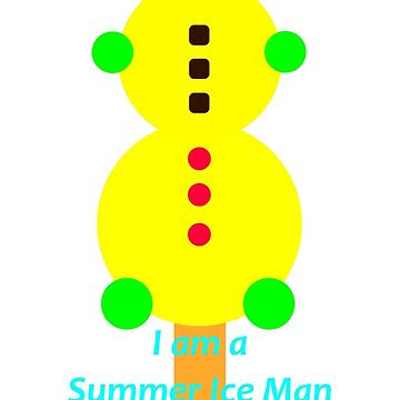 Summer Ice Man 123 degrees Fahrenheit by telescope