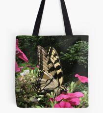 Yellow Swallowtail..... swallowing!   Tote Bag
