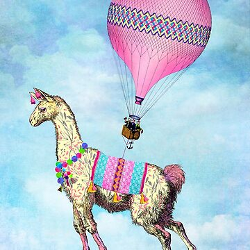 Flying Llama by TammyWetzel