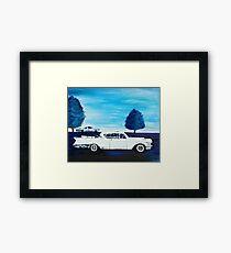 Classic Cadillac Framed Print