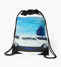 Classic Cadillac Drawstring Bag