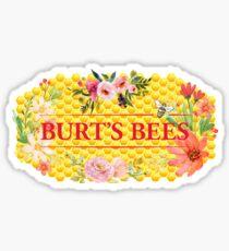 Burt's Bees Flower Honeycomb Logo Sticker