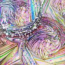 RAINBOW IN A BLENDER ABSTRACT by PopArtdiva