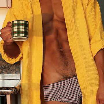 Hot Coffee Hot Guy by dudeoir