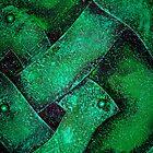 Metal in Abstract ~ Green by Alixzandra