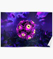 Eyeball Orb Poster