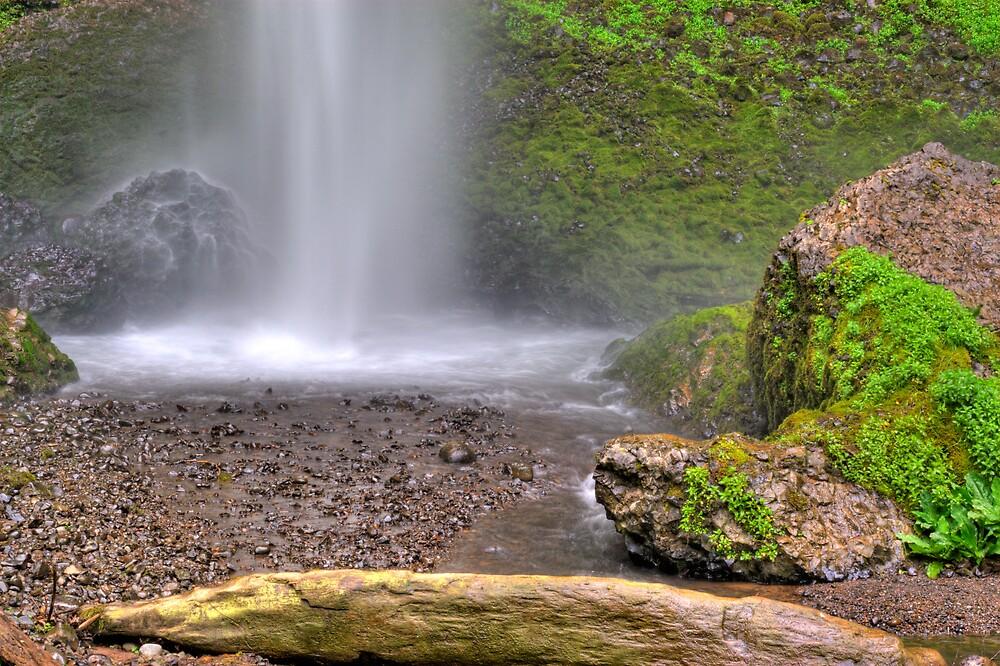 Laturell Falls Bottom by Jonathan Cohen