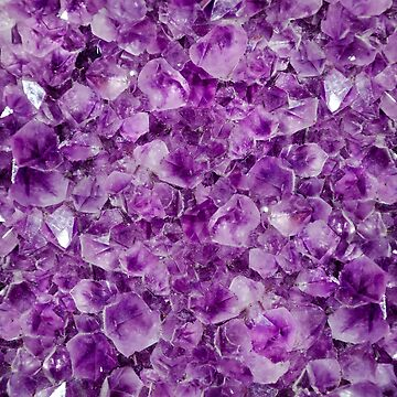 Purple Healing Crystals by newburyboutique
