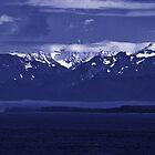 Fog - Juneau, Alaska Ice Field by John Schneider