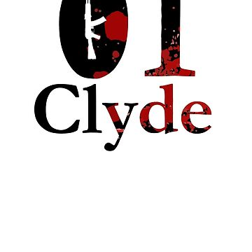 Clyde - Son of a gun partnershirt by GerbElli