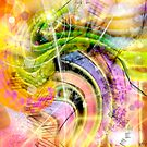 QUARK EXPRESS ABSTRACT by PopArtdiva