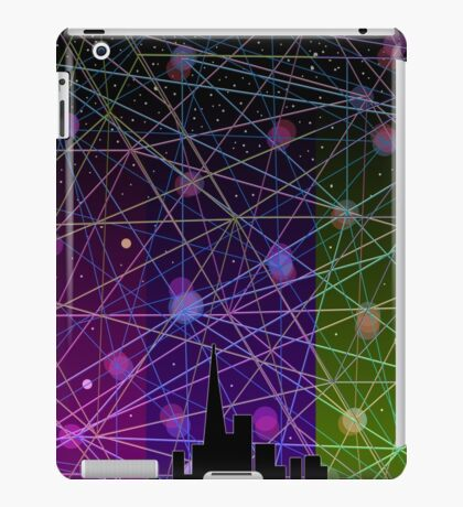 A Futurist's Stary Night  iPad Case/Skin