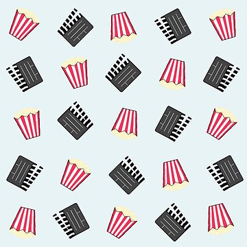 A Night At The Movies Popcorn Pattern by valleone