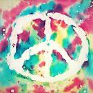 Tie Dye Peace by BTaberham
