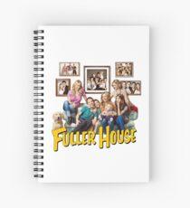 Fuller Haus Cast Merch Spiralblock
