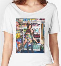 Camiseta ancha Broad City