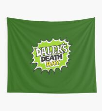 Daleks Death Ray Wall Tapestry