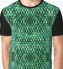 Emerald crystal dragon Graphic T-Shirt