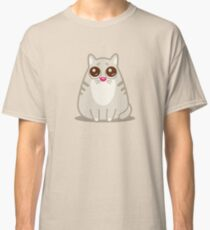 Funny Sad Cat Tshirt and Stickers - Cat Gifts for Cat lovers everywhere! Classic T-Shirt