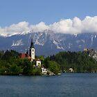 Lake Bled  by annalisa bianchetti