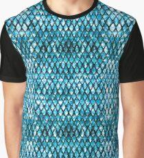 Aquamarine Dragon Graphic T-Shirt