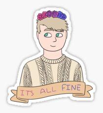 John Watson - It's All Fine Sticker