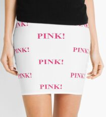 A Study In Pink Mini Skirt