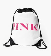 A Study In Pink Drawstring Bag