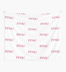 A Study In Pink Wall Tapestry