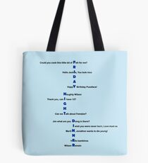 Thank you, can I have 12? Tote Bag