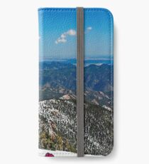 mountain view iPhone Wallet/Case/Skin