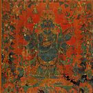Mahakala and his entourage by LuciaS