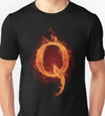 Qanon Fire Letter Q Anon The Great Awakening the storm is here prints online store Unisex T-Shirt
