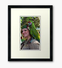 Pose For The Camera Framed Print