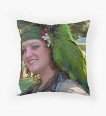 Pose For The Camera Throw Pillow