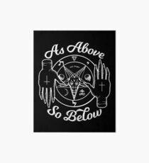 As Above So Below Art Board
