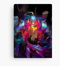 Neon Elric Brothers Canvas Print