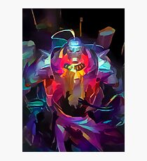 Neon Elric Brothers Photographic Print