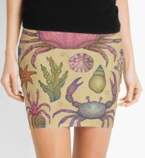 Marine Life I Mini Skirt