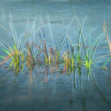 Electric Grass by posyrosie