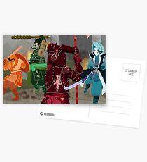 For Honor Colour Battle Postcards