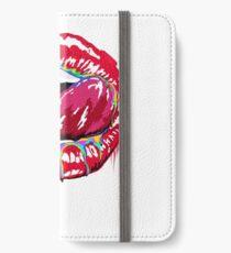 Lick my Lips iPhone Wallet/Case/Skin