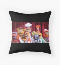 Gang of the puppets Throw Pillow