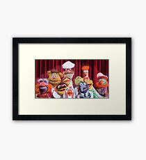 Gang of the puppets Framed Print