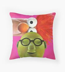 Bunsen and Beaker Throw Pillow