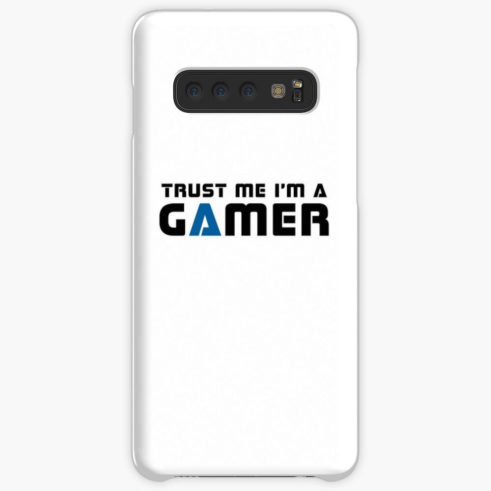 Confía en mí que soy un jugador Funda y vinilo para Samsung Galaxy