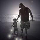 a Walk with dad by tabusoro