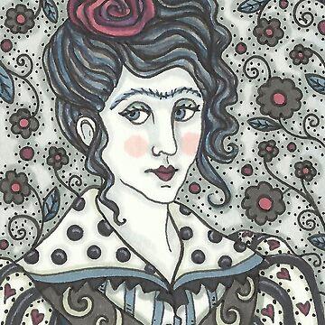 VALENTINE GOTHIC by SusanBrackArt
