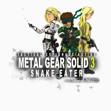 Metal Gear Solid 3 - Snake Eater by Arcemise